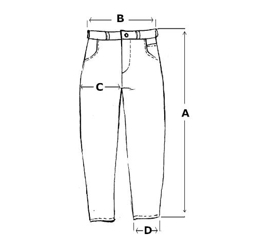 Tabela rozmiarów dla B93C